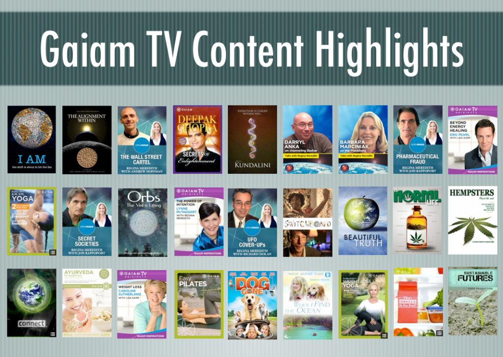 Gaiam TV: Alternative Streaming Videos