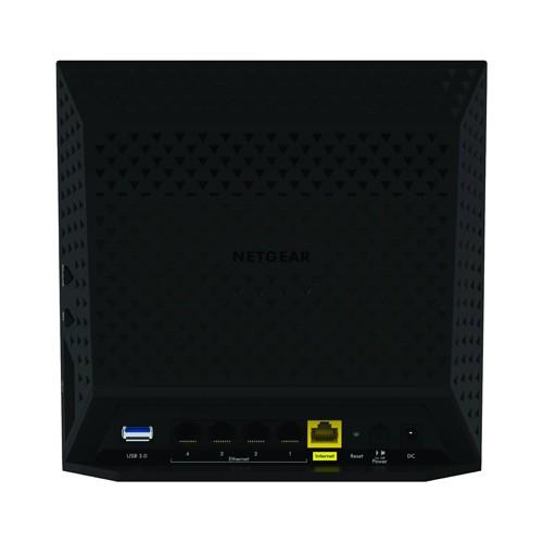 The Netgear R6300 V2 Back