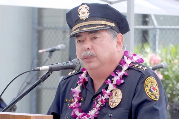 Hawaii Police Chief Paul Ferreira